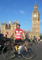 Transcontinental Bike Race start - I would learn a lot over the next 2 weeks of non-stop, sleep deprived racing