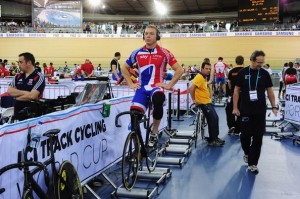 Well I suppose you can do a warm-up on rollers....advantages of a cycling trainer compared to rollers later in the post!