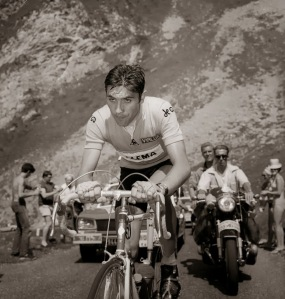 Stage 17 of 1969 Tour de France - Merckx risked blowing up and losing the Tour when he attacked over the top of the Tourmalet then rode solo for 130 kilometers. He won the stage by nearly eight minutes. That year he won every jersey possible and won the race with a margin of 17 minutes. Definition of no guts, no glory.