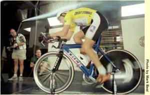 Lance Armstrong wind tunnel