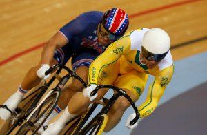 Australia's Shane Perkins, 1st in 2011 Keirin World Championships