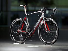 Venge McLaren bike - i.e. Mark Cavendish's bike. Designed using Big Data techniques in computational fluid dynamics.