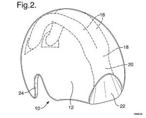 british cycling ducted helmet back