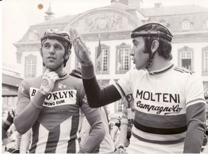 Mr Merckx may have to sit down before we break the news about an electric motor in a helmet