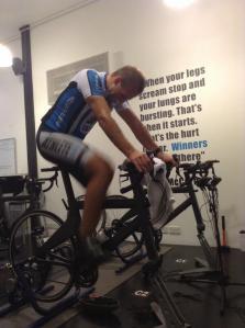 Ironman intensity workout