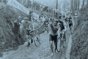 "1985 - Torrential rain. The weather was so bad that only 24 finished. Race historian, Rik Vanwalleghem, said: ""It was a legendary Ronde.... It was as cold as Siberia'"