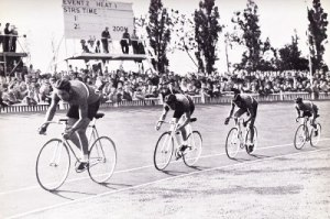 Herne Hill velodrome in London as a long history of competition. Click image to find out more.