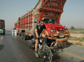 Recognize this man? Mark Beaumont's TV career started with a WR cycle around the world