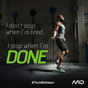Been using Mio Alpha sports watch in my training, great results