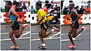 Mo Farah running technique analysis at 'Balanced Runner' blog - click image to see post