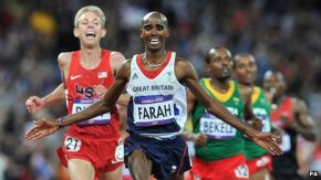 Interview with BBC radio on his London marathon attempt - click image